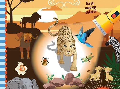 De Lantaarn Zaklampboek Speuren naar wilde dieren