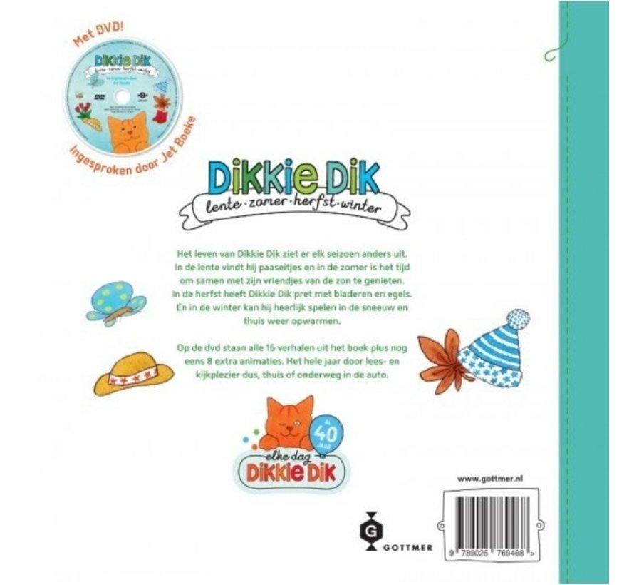 Dikkie Dik Lente zomer herfst en winter met DVD