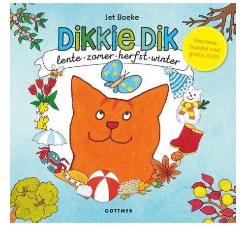 Gottmer Dikkie Dik Lente zomer herfst en winter met DVD