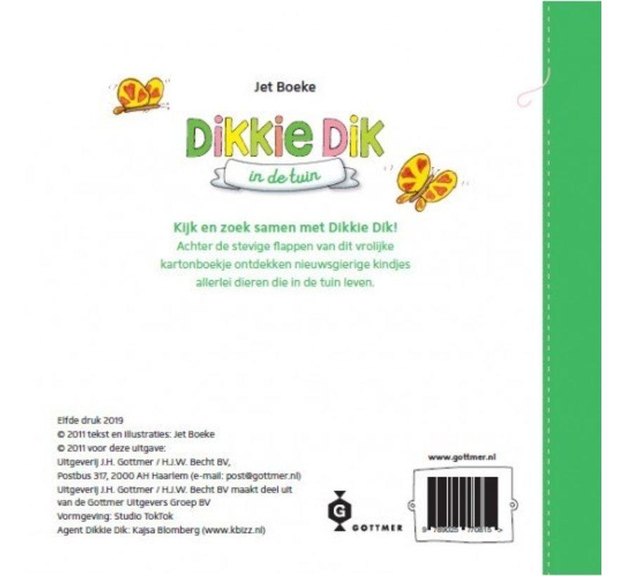 Dikkie Dik in de tuin (flapjesboek)