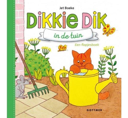 Gottmer Dikkie Dik in de tuin (flapjesboek)