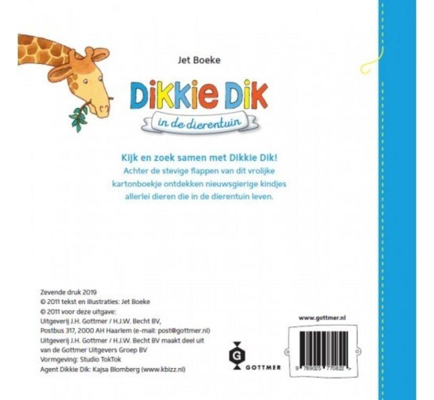 Dikkie Dik in de dierentuin (flapjesboek)