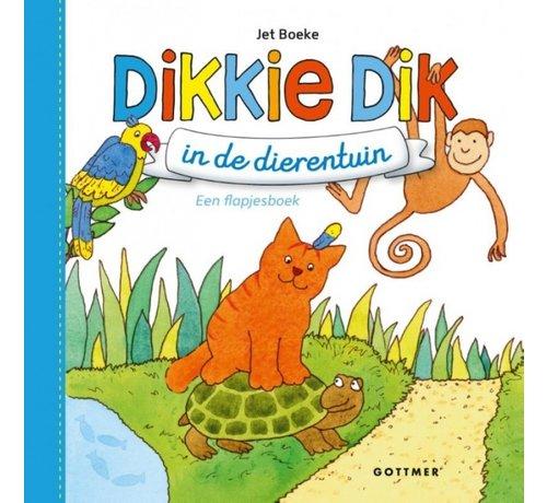 Gottmer Dikkie Dik in de dierentuin (flapjesboek)