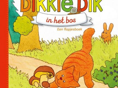 Gottmer Dikkie Dik in het bos (flapjesboek)