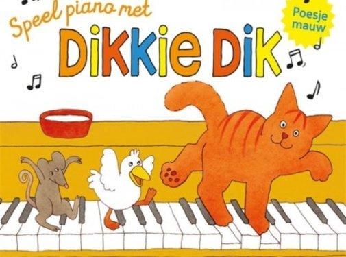 Gottmer Speel piano met Dikkie Dik (met pianotoetsen en geluid)