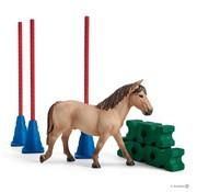 Schleich Speelset Slalom voor Pony 42483