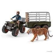 Schleich Quad met Aanhanger en Ranger 42351