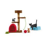 Schleich Kattenkrabpaal Speelplezier voor Katten 42501