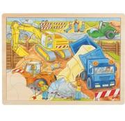 GOKI Puzzle Construction Site 56 pcs
