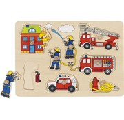 GOKI Lift-out Puzzel Fire Brigade