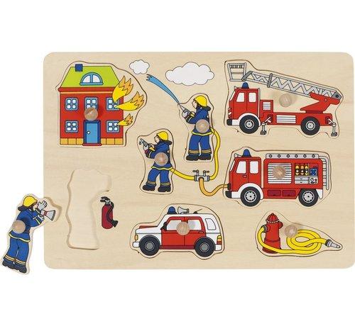 GOKI Lift-out Puzzel Fire Brigade