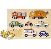 GOKI Puzzle Lift-Out Vehicles