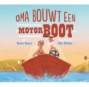 De Fontein Oma bouwt een motorboot