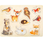 Small Foot Puzzel Bosdieren Hout