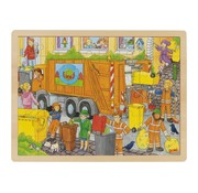 GOKI Puzzle garbage collection