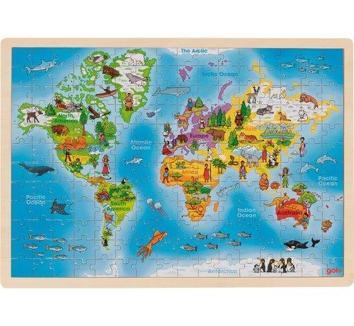 GOKI Puzzel Wereld