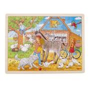 GOKI Puzzle, Peggy on the farm, Peggy Diggledey