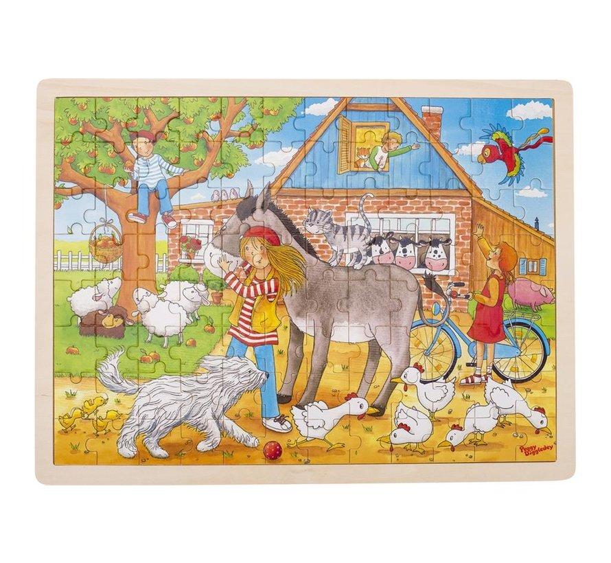 Puzzle, Peggy on the farm, Peggy Diggledey