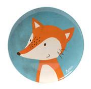 sigikid Melamine plate dog Fox