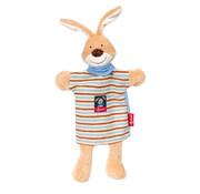 sigikid Hand Puppet and Comforter Semmel Bunny