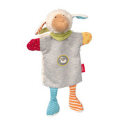 sigikid Hand Puppet and Comforter Boller Sheep