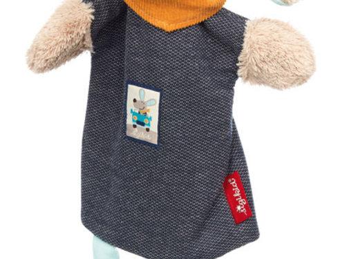 sigikid Hand Puppet and Comforter Dog Hügge Hug