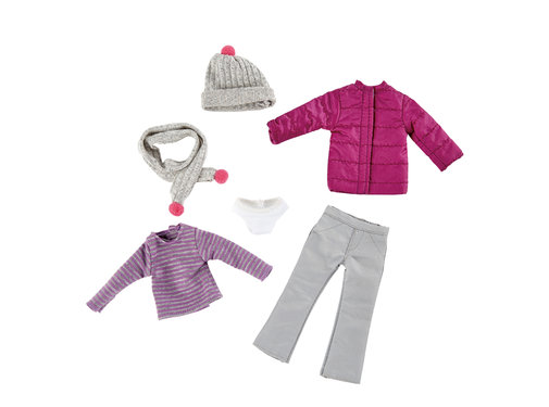 Käthe Kruse Kruselings Winter Outfit