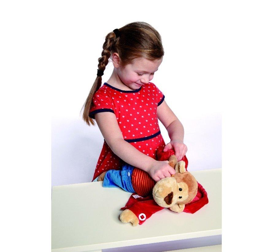 Teaching Monkey  Soft PlayQ