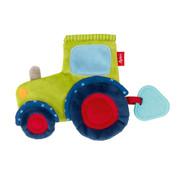 sigikid Comforter Crinkle blankie tractor