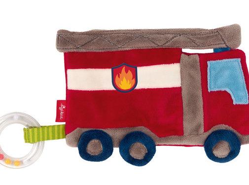 sigikid Comforter Crinkle blankie fire truck