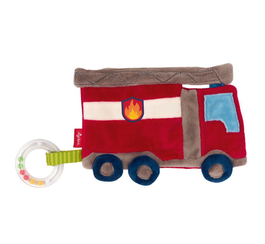Comforter Crinkle blankie fire truck