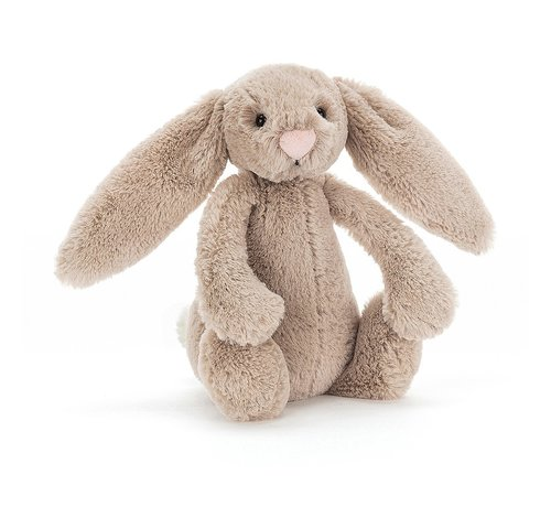 Jellycat Cuddly Animal Bashful Beige Bunny