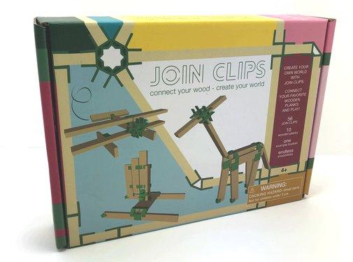 Join Clips Starterset 56 clips en 10 plankjes