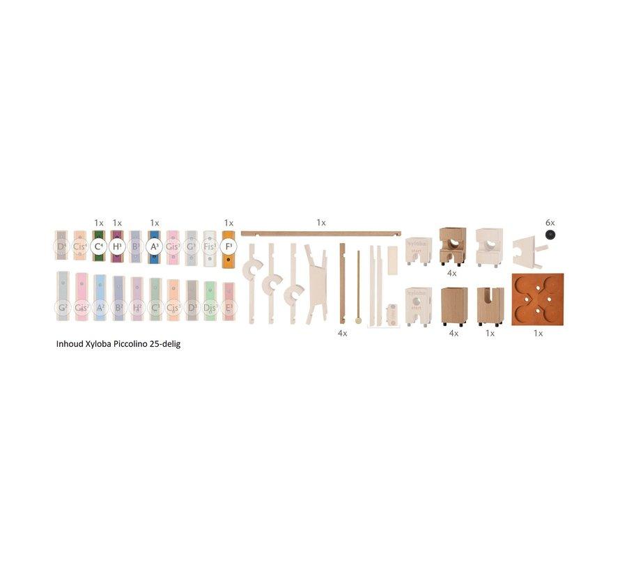 Piccolino The Marble Run Construction Kit 25-pcs