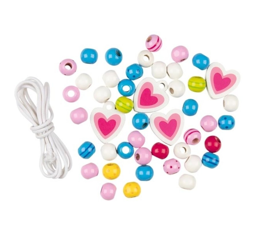 Wooden bead set, Susibelle