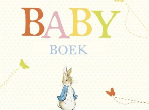 WPG Pieter Konijn Babyboek
