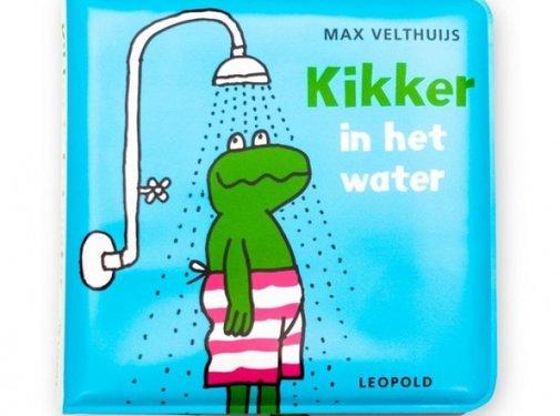 WPG Kikker in het water