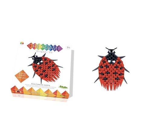 Creagami Origami Lieveheersbeestje 3D XS