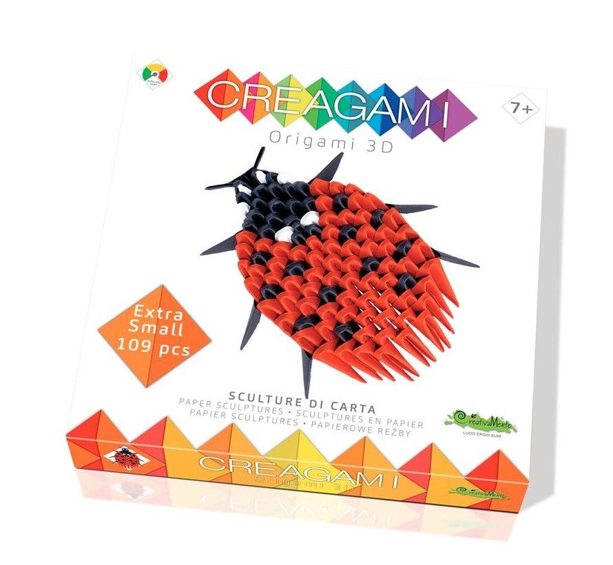 Origami Lieveheersbeestje 3D XS