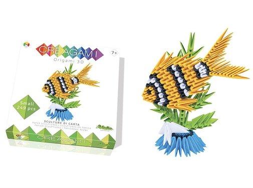 Creagami Origami Fish 3D S