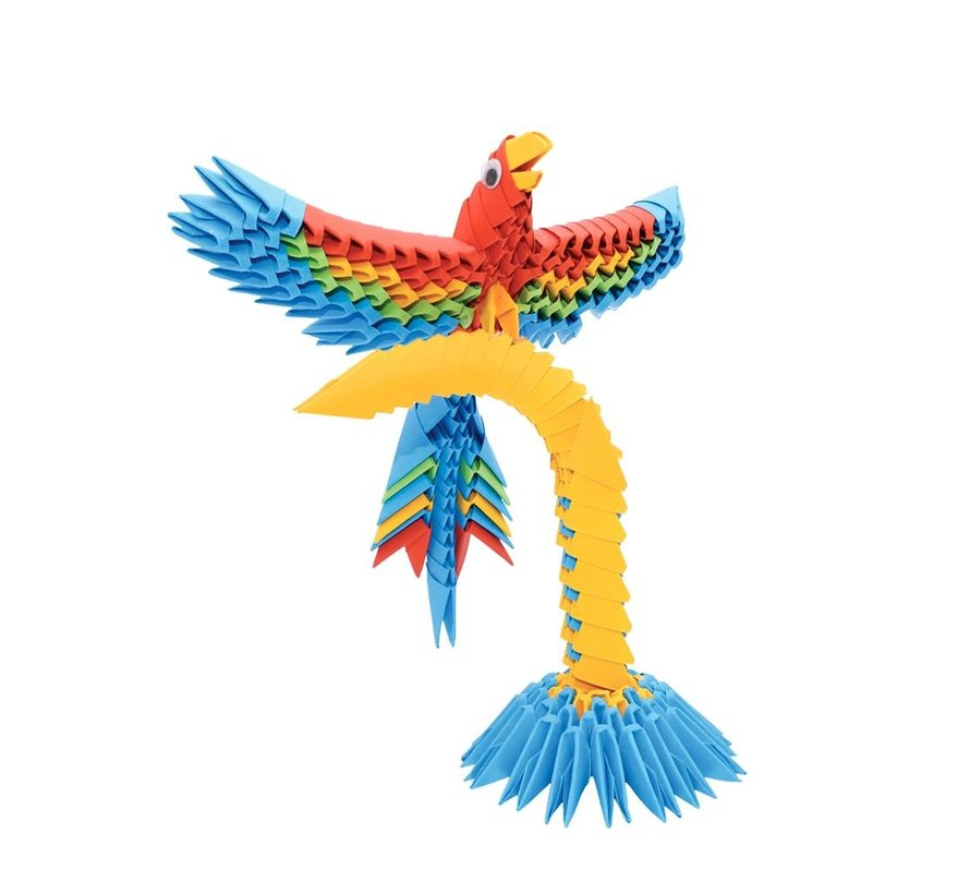 Origami Parrot 3D S