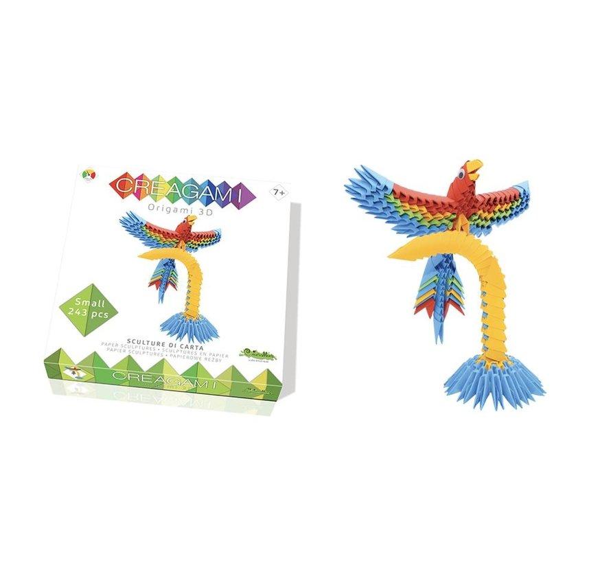 Origami Papegaai 3D S