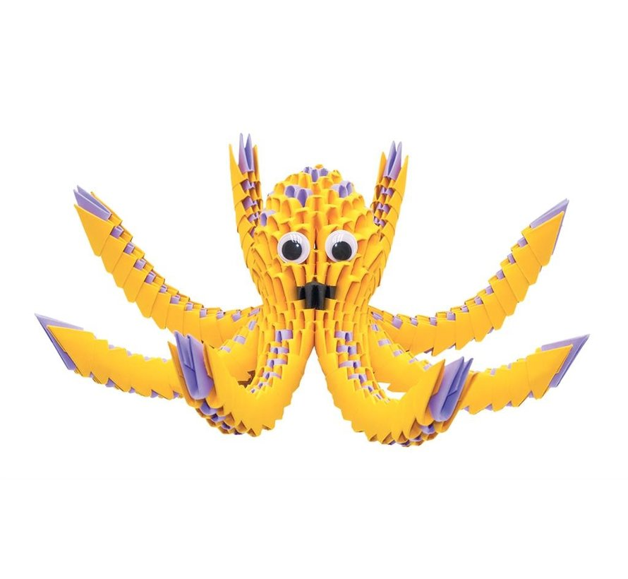 Origami Octopus 3D M