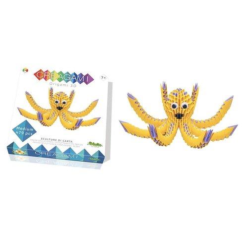 Creagami Origami Octopus 3D M
