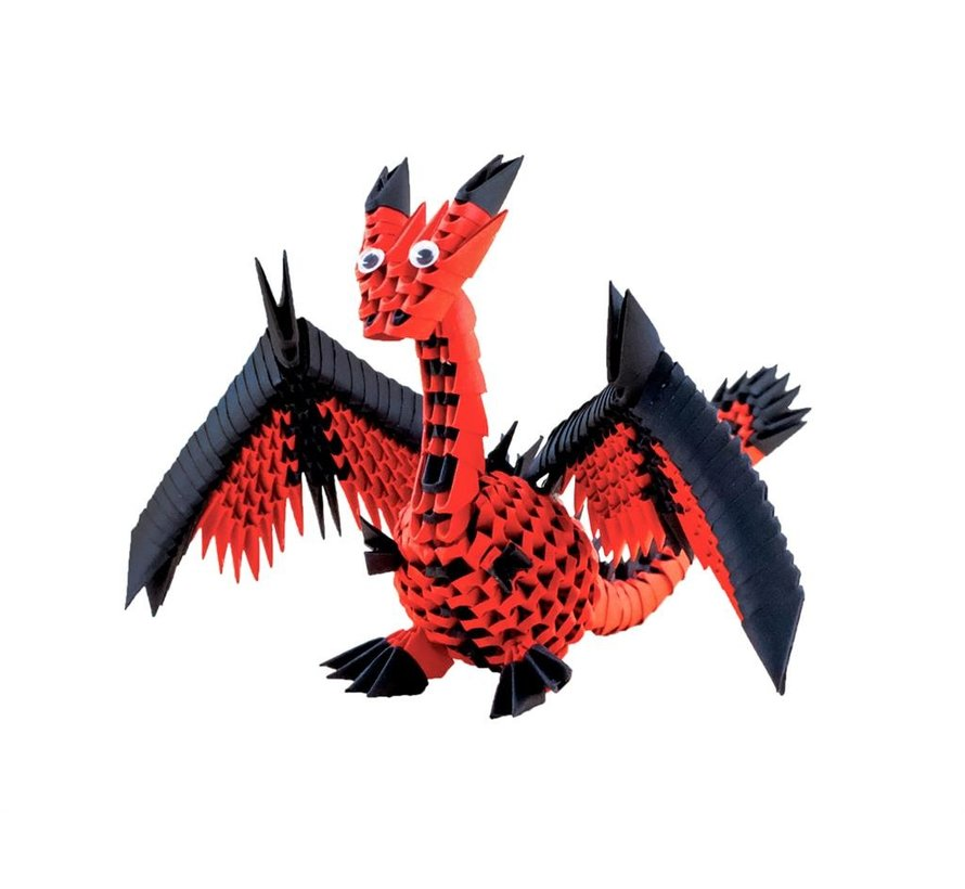 Origami Draak 3D M