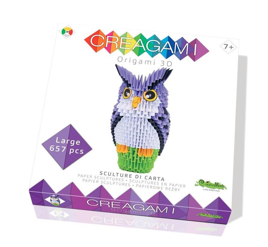 Origami Uil 3D L