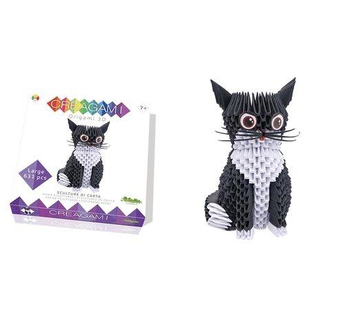 Creagami Origami Cat 3D L