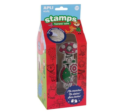 APLI Stamps Forest Tale