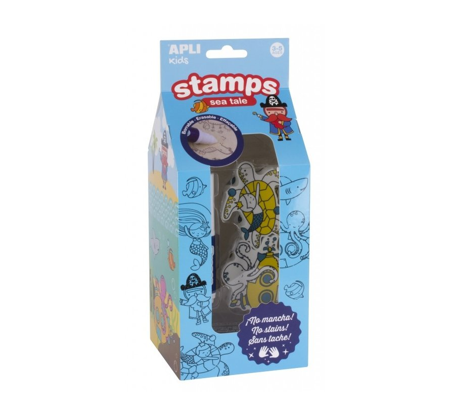 Stamps Sea Tale