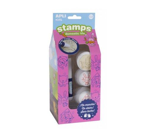 APLI Stamps Domestic Life
